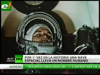 Gagarin, el primer hombre en el espacio