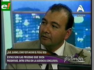 Fiscal Soza anuncia investigación a Costas y Antelo por el caso Rózsa