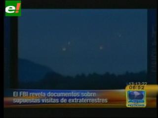 Secretos de los extraterrestres son revelados por el FBI