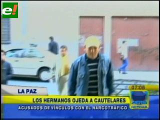 """Los hermanos Ojeda ante un juez cautelar por el caso """"narco-general"""""""