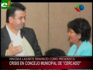Crisis en el Concejo Municipal de Cochabamba