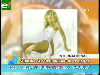 """Shakira lució su sensualidad en la portada de su sencillo """"Rabiosa"""""""