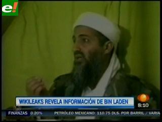 Wikileaks revela movimientos de Bin Laden tras atentados de 11 de septiembre