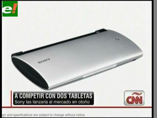 """Sony lanza su """"tablet"""" junto a Google"""