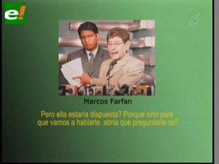 Audio revela presunto plan de Farfán y Soza para tomar la fiscalía paceña