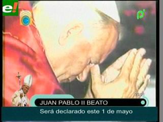 Juan Pablo II se convierte en Santo