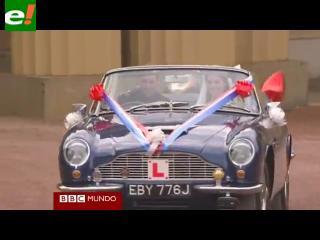 De la carroza real al Aston Martin