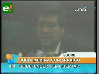 Jueza ordena arraigo a Samuel Doria Medina