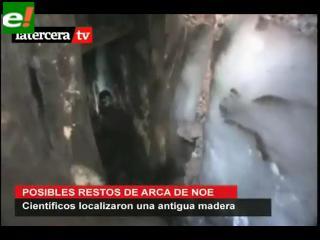 Encuentran los posibles restos del Arca de Noé en Turquía