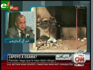 Pakistán niega haber dado refugio a Osama bin Laden