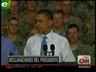 Obama felicita al comando que mató a Osama bin Laden