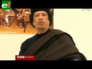 ¿Qué ha sido de Gadafi, el líder libio?