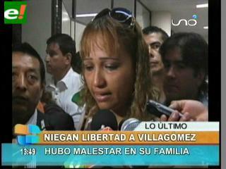Niegan acción de libertad a Alcides Villagómez