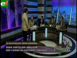 """Grupo ciudadano pide """"no subordinar el sistema judicial"""""""
