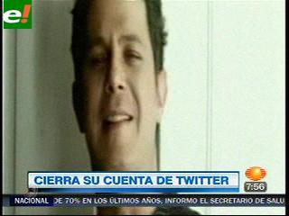 Twitteros hacen escapar a Alejandro Sanz con sus críticas en la red social