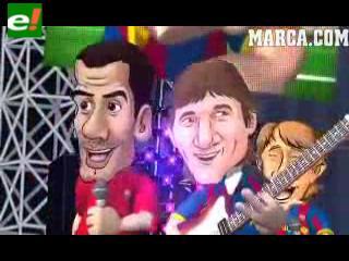 El festejo del Barcelona