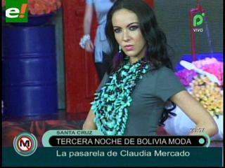 """Noche de """"Divas"""" en Bolivia Moda"""