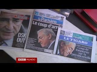 El impacto de la detención de Dominique Strauss-Kahn