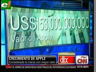 Apple ya es mejor marca que Google