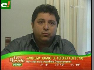 """Ruddy Dorado se defiende: """"No es traición buscar votos"""""""