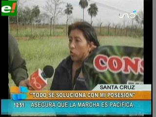 "Rosmeri Gutiérrez: ""Todo se soluciona con mi posesión"""