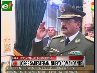 Jorge Santiesteban es el nuevo Comandante de la Policía Nacional