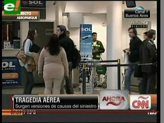 Tragedia aérea en Argentina: Confirman que no hay sobrevivientes