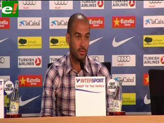 """Guardiola: """"Quiero que los jugadores sientan que puede ser su última final"""""""