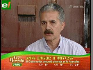 """Antelo: """"Hace meses que no hablo con Costas, debería actuar con honestidad y no dividir"""""""
