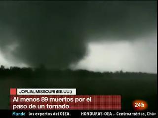 Al menos 89 muertos por el paso de un tornado por Joplin, en Missouri
