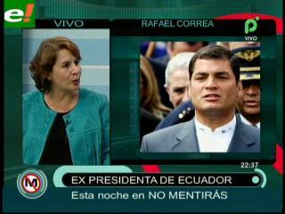 """Ex Presidenta de Ecuador: """"La prensa libre se convirtió en el primer contradictor de los gobiernos"""""""