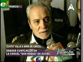 """Chito"" Valle: ""Mi condena es injusta, apelaré a la Corte Interamericana"""