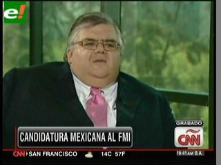 Agustín Carstens lucha por dirigir el FMI