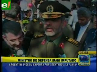 Bolivia echó al ministro iraní prófugo por el caso AMIA