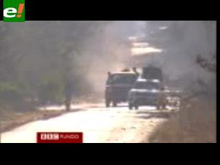 En la línea de fuego con los rebeldes libios