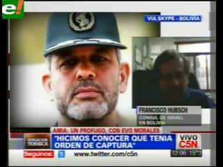 Israel crítica protección de Bolivia a ministro iraní acusado de terrorismo