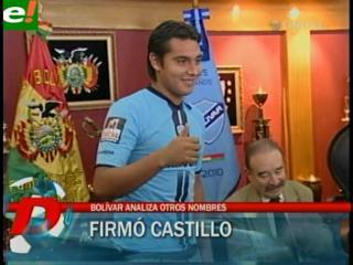 José Alfredo Castillo fue presentado esta mañana como refuerzo de Bolívar