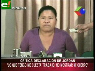 """Lola Tabo a Jessica Jordan: """"Lo que tengo me cuesta trabajo, no me cuesta mostrar mi cuerpo"""""""