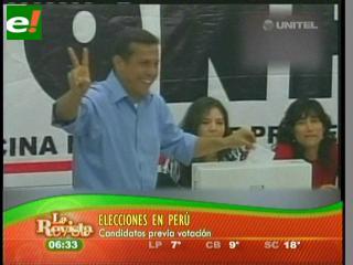 Ollanta Humala es el nuevo Presidente de Perú