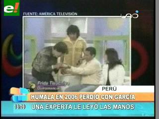 Vidente predijo en 2006 que Ollanta iba a ganar la presidencia