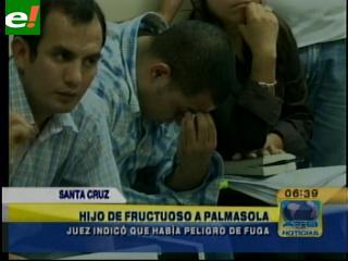 Juez mandó a la cárcel a hijo de Ávila