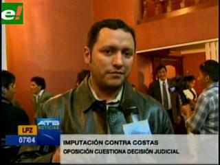 Oposición cuestiona decisión de incluir a Costas en el caso Terrorismo II