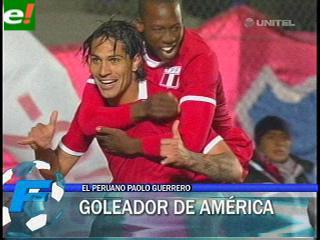 Paolo Guerrero es el goleador de la Copa América