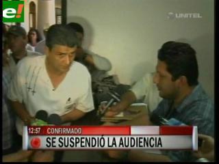 Ernesto Suárez cumplió y se presentó