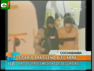 Remiten a El Abra a sicario brasileño
