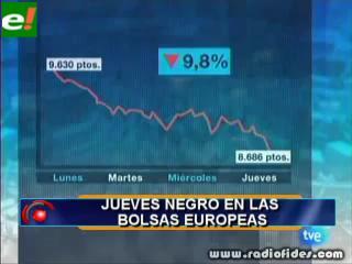 Los mercados mundiales no paran de caer y la preocupación llega a Bolivia