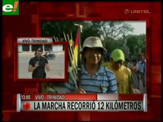 Los indígenas marchistas esperan recorrer 20 kilómetros por día