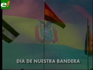 Hoy se celebra el Día de la Bandera de Bolivia