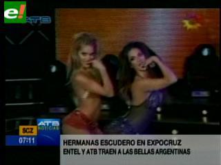 Las hermanas Escudero alistan maletas para ofrecer un show en Bolivia