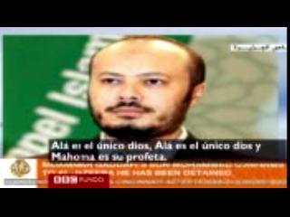 El instante en que el hijo de Gadafi es atacado en su casa